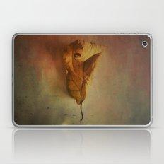 Lonely Autumn Leaf Laptop & iPad Skin