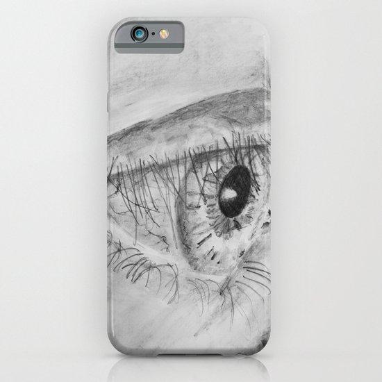 Eye Sketch iPhone & iPod Case