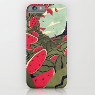 Watermelon Surf Dream iPhone 6 Slim Case