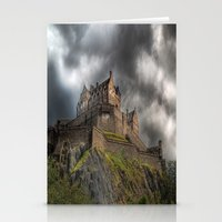 Rain Clouds Over Edinbur… Stationery Cards