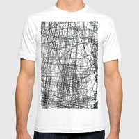 GRATTAGE Mens Fitted Tee White SMALL