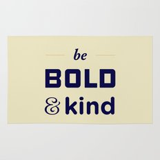 Be Bold Rug