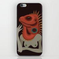 Wildlife - Iguana iPhone & iPod Skin