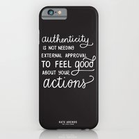 iPhone & iPod Case featuring Authenticity // The Lively Show by Ilana Zatkowsky