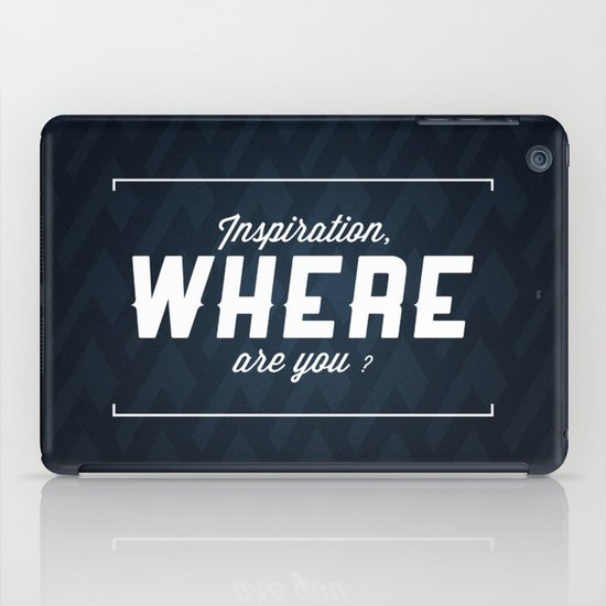 Inspiration iPad Case