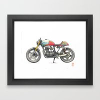 Honda Framed Art Print