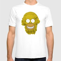 Homer's Odyssey Mens Fitted Tee White SMALL