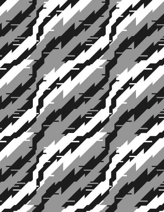 SSSTATIC Pattern Art Print