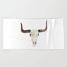 Beach Towel - Animal Skull - Marissa Yunque