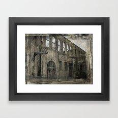 this old house Framed Art Print