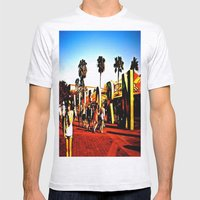 california adventuring Mens Fitted Tee Ash Grey SMALL