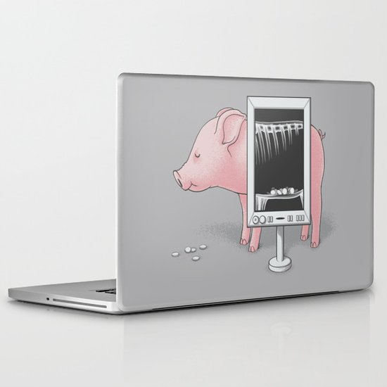 Saving money Laptop & iPad Skin