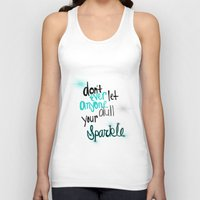 Unique Sparkle Unisex Tank Top
