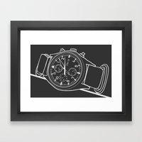 Andrey Watch Framed Art Print