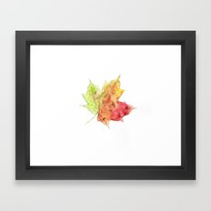 Fall Leaf #2 Framed Art Print