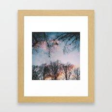 Subtle Color Framed Art Print