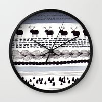 Pattern / Nr. 1 Wall Clock