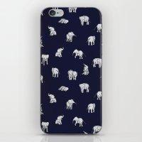 Indian Baby Elephants In… iPhone & iPod Skin