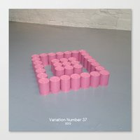 Variation Number 37 (photo) Canvas Print