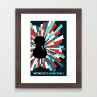 Shostakovich Cello Concerto Framed Art Print