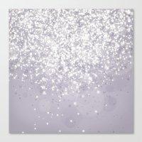Glitteresques IV:VI Canvas Print