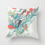 Colours In The Sky Throw Pillow