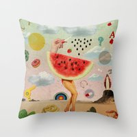 Xposed Collection -- Juicy Throw Pillow