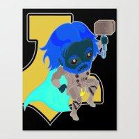 Thunder Warrior Canvas Print