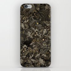 Fit In (autumn night colors) iPhone & iPod Skin
