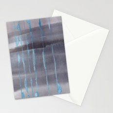 Grey Rain Stationery Cards