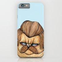 Ron Swanson Cat iPhone 6 Slim Case
