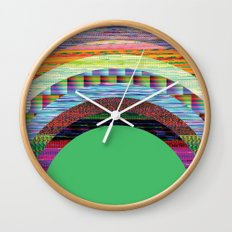 glitchbow Wall Clock