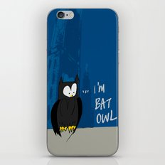 Bat Owl ... iPhone & iPod Skin