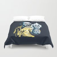 The Iceman Cometh Duvet Cover