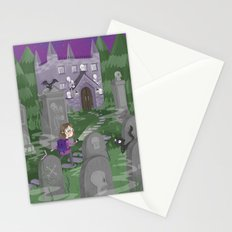 Exploring the Graveyard Stationery Cards