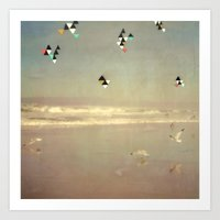Flying Formation Art Print