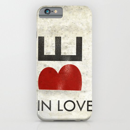 BE IN LOVE iPhone & iPod Case