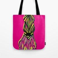 Seeing Zebra Tote Bag