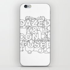 Dazed and Confused iPhone & iPod Skin