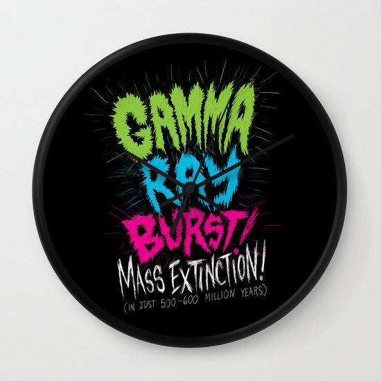 Gamma Ray Burst Wall Clock