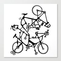 bike tuneup Canvas Print
