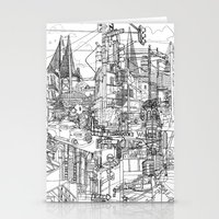 San Francisco! (B&W) Stationery Cards