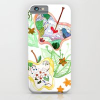iPhone & iPod Case featuring From apple land by yukamila:::Yuka Miller illustrations