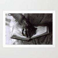 Líneas de Sabiduría (Lines of Wisdom) Art Print