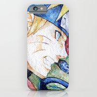 iPhone & iPod Case featuring Nauto Watercolor by Vouschtein