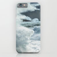 iPhone & iPod Case featuring Explosion of Surf by Shaun Lowe