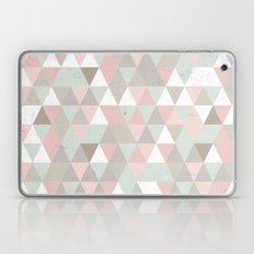 Shabby Chic Triangles Laptop & iPad Skin