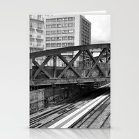 Paris Gare De L'Est  Stationery Cards
