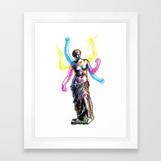 Venus de Milo is Made of Rock Framed Art Print