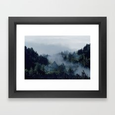 End in fire Framed Art Print